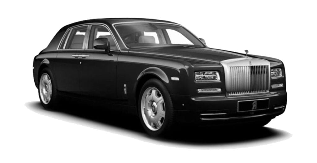 Chauffeur Driven Rolls Royce Phantom London UK